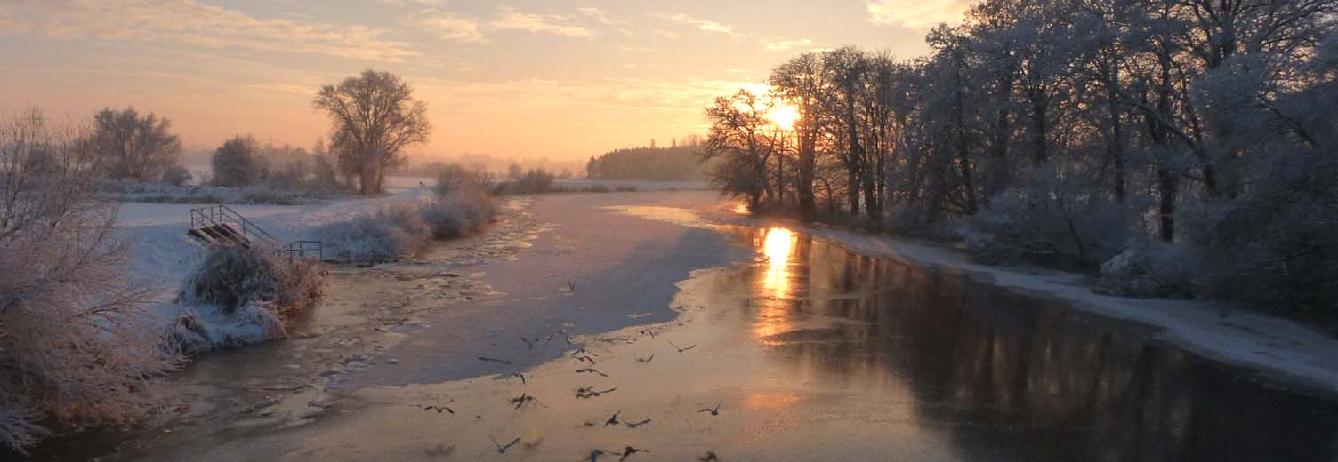 Winterliche Hamme-Impressionen