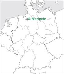 Karte Groß©Gemeinde Ritterhude